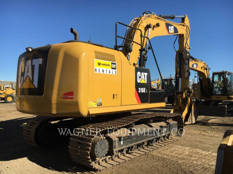 CATERPILLAR ESCAVADEIRAS 316EL THB equipment  photo 3