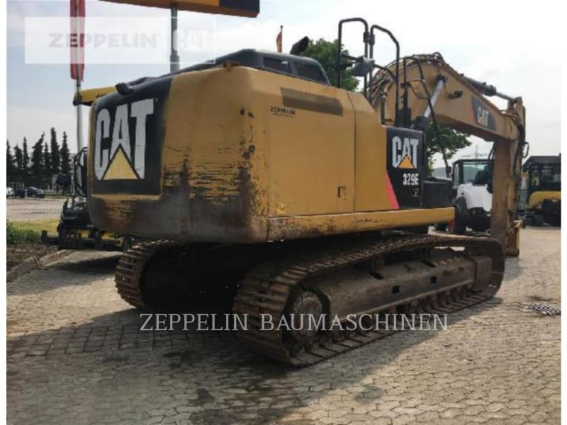 CATERPILLAR TRACK EXCAVATORS 329ELN equipment  photo 3