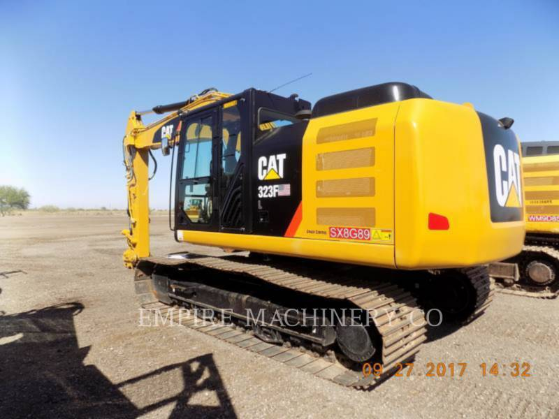CATERPILLAR KOPARKI GĄSIENICOWE 323FL    P equipment  photo 4