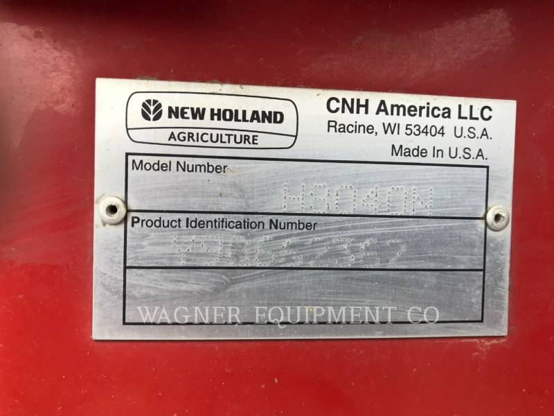 NEW HOLLAND LTD. AG HAY EQUIPMENT H8040N equipment  photo 5