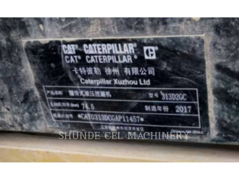 CATERPILLAR PELLES SUR CHAINES 313D2GC equipment  photo 2