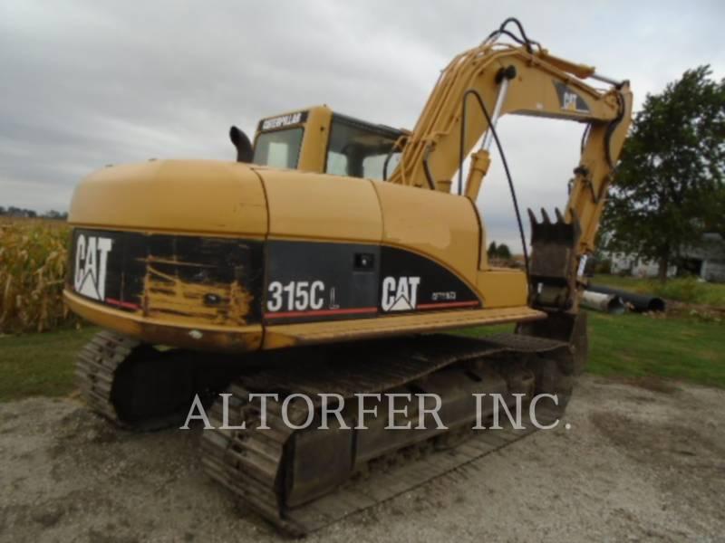 CATERPILLAR TRACK EXCAVATORS 315CL TH equipment  photo 3