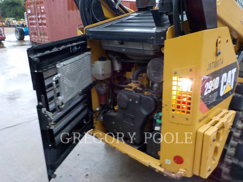 CATERPILLAR PALE CINGOLATE MULTI TERRAIN 299DXHP equipment  photo 14