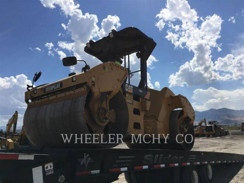 CATERPILLAR VIBRATORY DOUBLE DRUM ASPHALT CB64 R9 equipment  photo 2