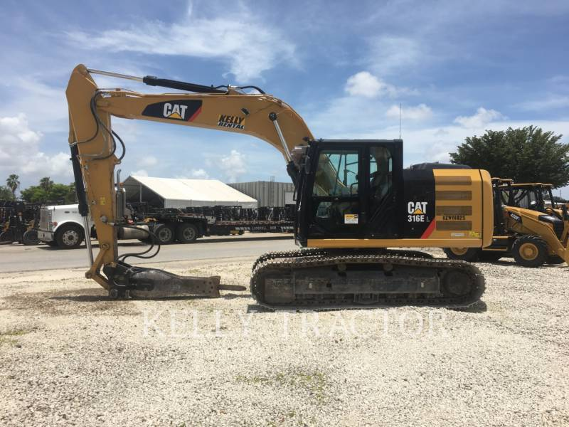 Caterpillar EXCAVATOARE PE ŞENILE 316EL equipment  photo 2
