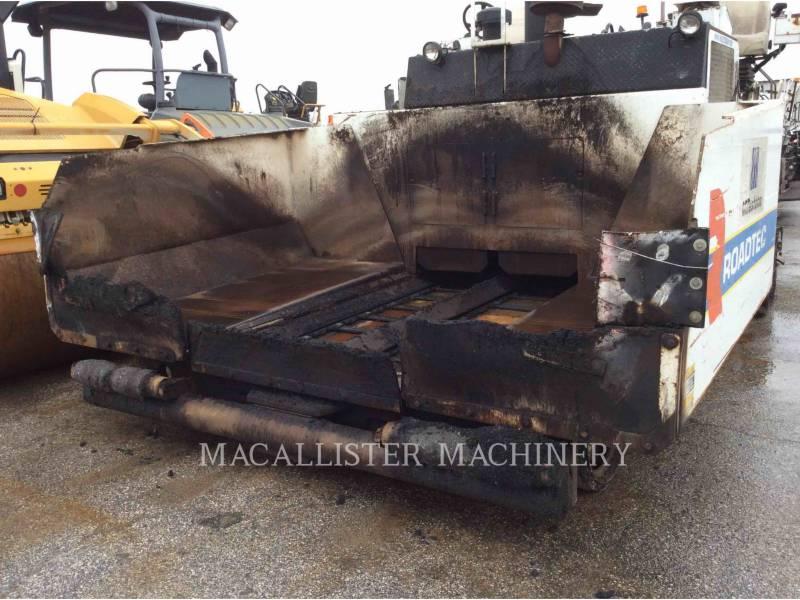 ROADTEC ASPHALT PAVERS RP150 equipment  photo 8