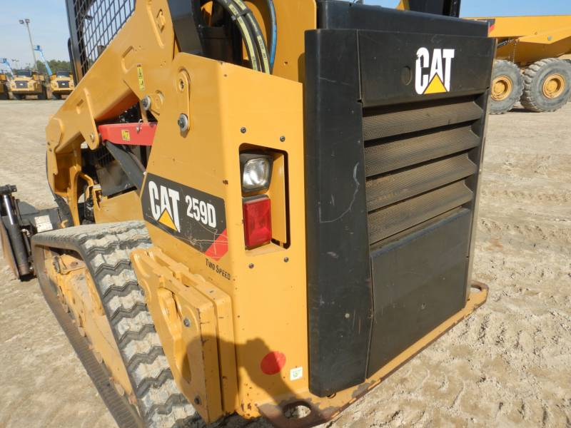 CATERPILLAR 多様地形対応ローダ 259D equipment  photo 24