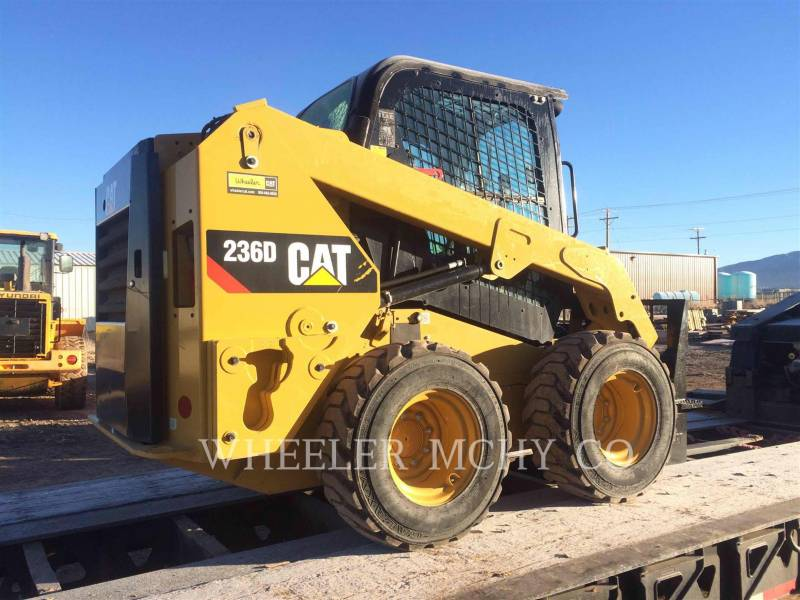 CATERPILLAR PALE COMPATTE SKID STEER 236D C3-H2 equipment  photo 1