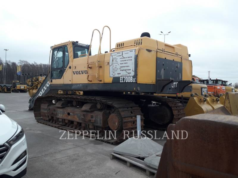 VOLVO CONSTRUCTION EQUIPMENT KETTEN-HYDRAULIKBAGGER EC700BLC equipment  photo 2
