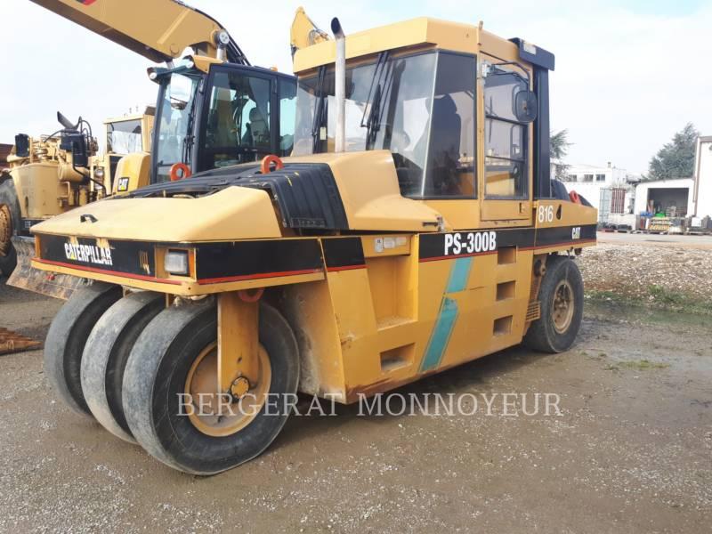 CATERPILLAR GUMMIRADWALZEN PS-300B equipment  photo 1