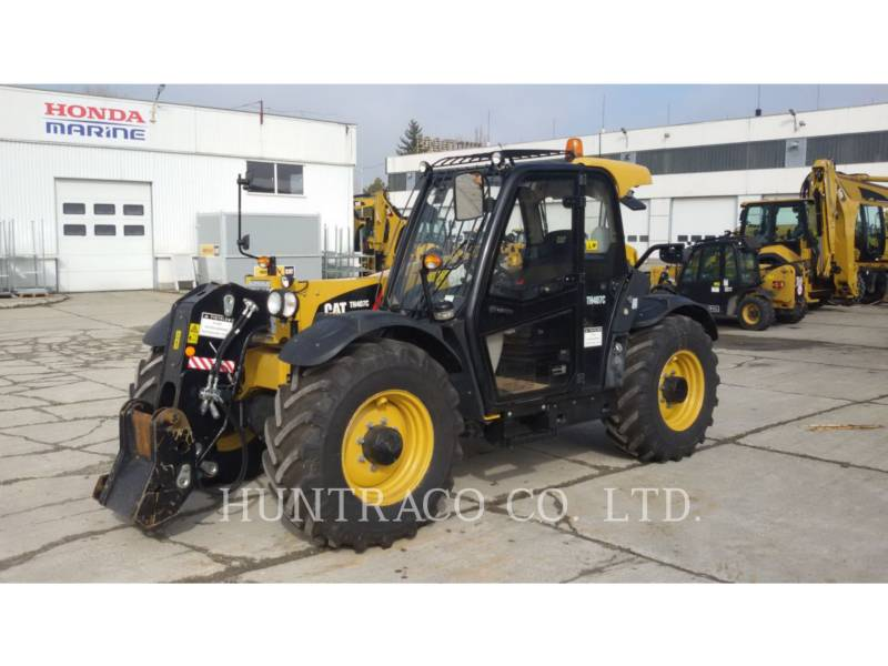 CATERPILLAR TELEHANDLER TH 407 C equipment  photo 1