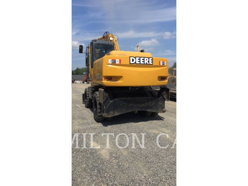 JOHN DEERE WHEEL EXCAVATORS 180C W equipment  photo 3