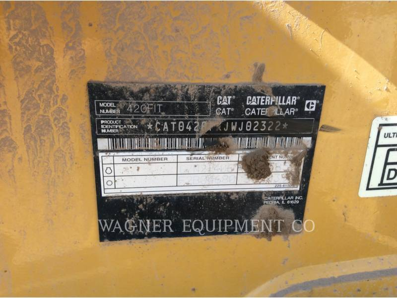 Caterpillar BULDOEXCAVATOARE 420F IT4WE equipment  photo 5