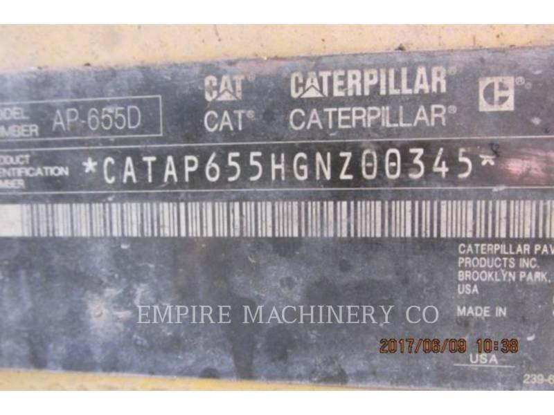 CATERPILLAR PAVIMENTADORES DE ASFALTO AP655D equipment  photo 3