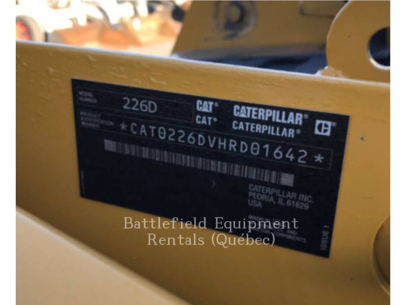 CATERPILLAR SCHRANKLADERS 226D equipment  photo 10