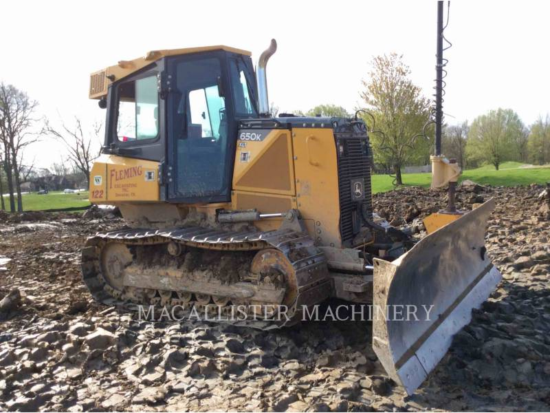 JOHN DEERE KETTENDOZER 650K XLT equipment  photo 1