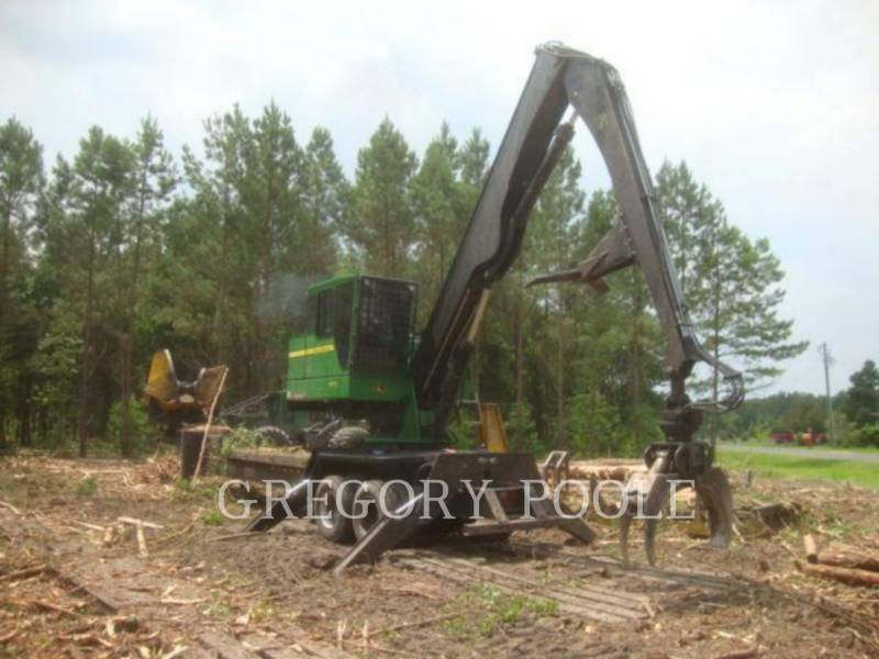 JOHN DEERE FORESTRY - LOG LOADERS 437D equipment  photo 2