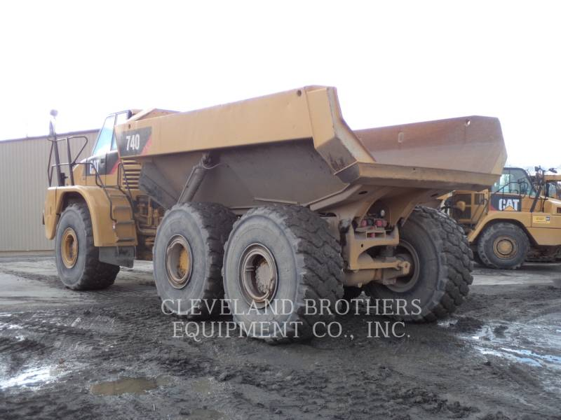 CATERPILLAR ARTICULATED TRUCKS 740 WW equipment  photo 4