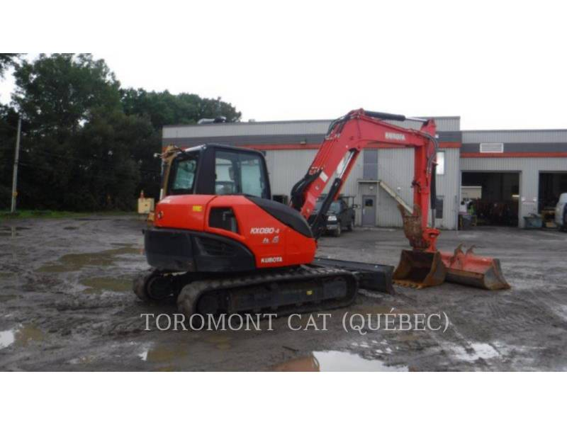 KUBOTA CORPORATION TRACK EXCAVATORS KX080-4 equipment  photo 2