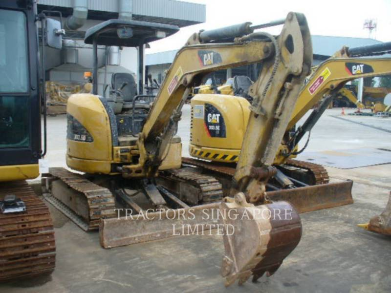 CATERPILLAR TRACK EXCAVATORS 303.5DCR equipment  photo 2