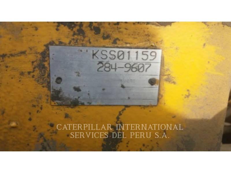 CATERPILLAR UNDERGROUND MINING LOADER R1600H equipment  photo 8