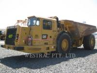 Equipment photo CATERPILLAR AD55B 地下作业铰接卡车 1