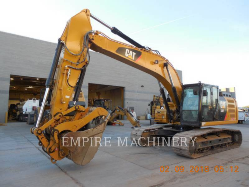 CATERPILLAR TRACK EXCAVATORS 330FL equipment  photo 4