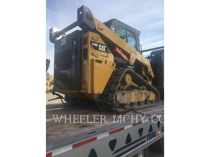 CATERPILLAR CHARGEURS TOUT TERRAIN 249D C3-H2 equipment  photo 4