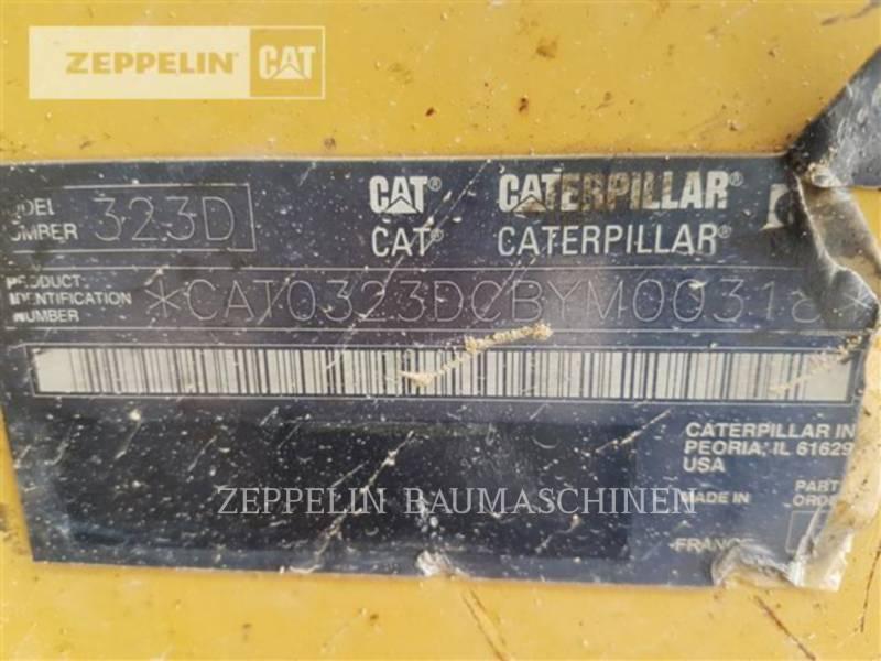 CATERPILLAR PELLES SUR CHAINES 323DL equipment  photo 17