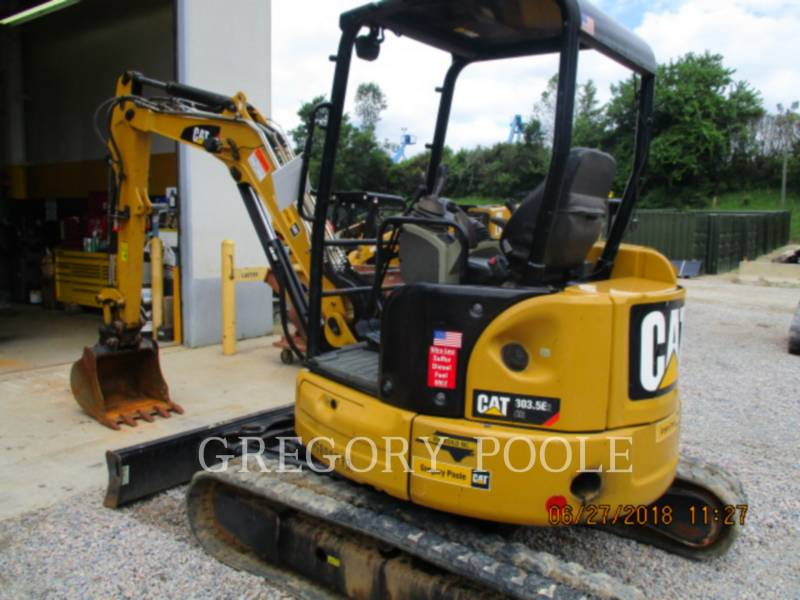 CATERPILLAR トラック油圧ショベル 303.5E2 CR equipment  photo 10