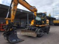JCB PELLES SUR PNEUS JS145 W equipment  photo 2