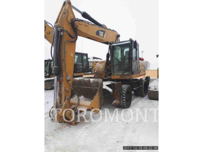 CATERPILLAR ESCAVATORI GOMMATI M318D equipment  photo 1