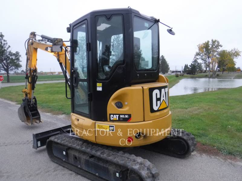 CATERPILLAR PELLES SUR CHAINES 303.5E2CRB equipment  photo 2
