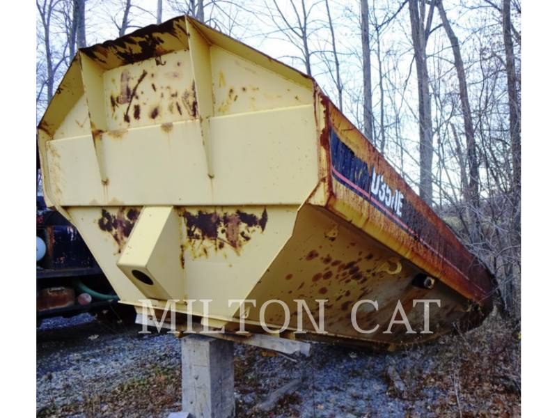 CATERPILLAR PESO - CASSONE D350E equipment  photo 1