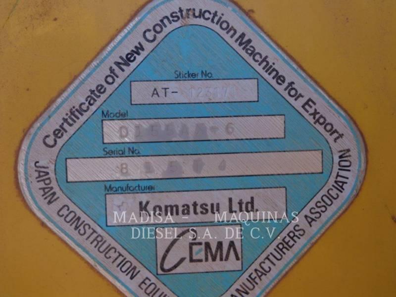 KOMATSU BERGBAU-KETTENDOZER D155AX equipment  photo 2