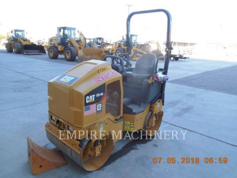 CATERPILLAR TANDEMVIBRATIONSWALZE, ASPHALT CB14B equipment  photo 4