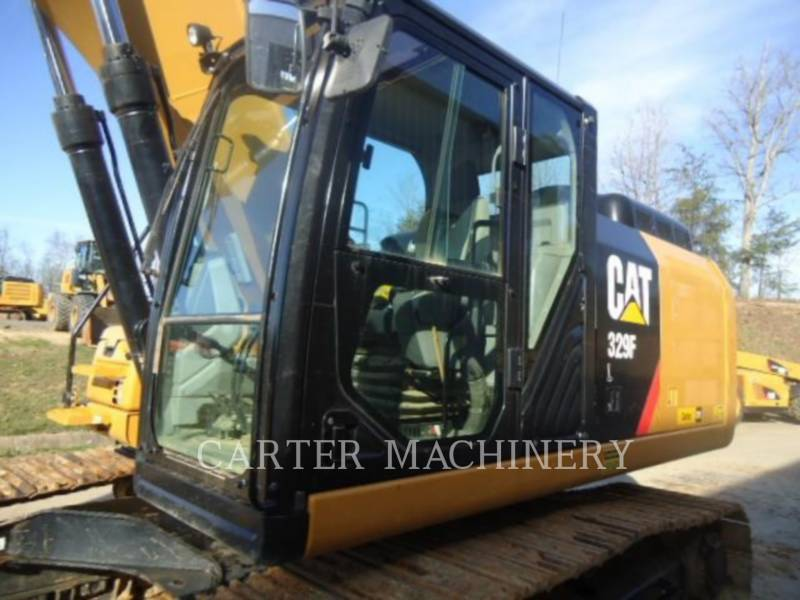 CATERPILLAR KETTEN-HYDRAULIKBAGGER 329F CF equipment  photo 8