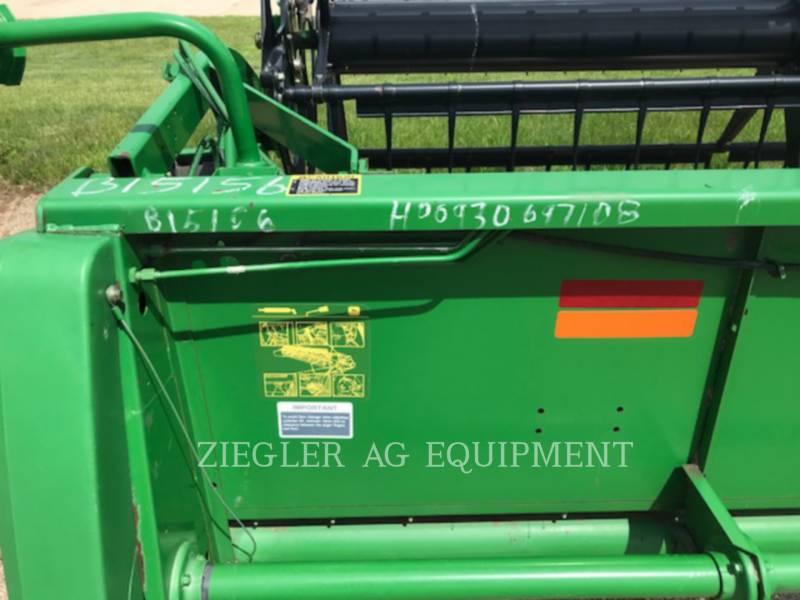DEERE & CO. Rabatteurs 930F equipment  photo 16