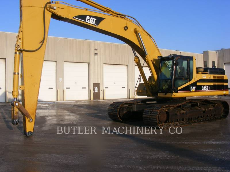 CATERPILLAR PELLES SUR CHAINES 345 B L SERIES LL equipment  photo 1