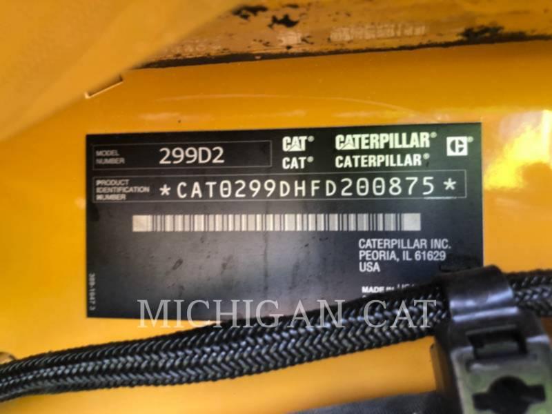CATERPILLAR CARREGADEIRAS TODO TERRENO 299 D equipment  photo 23