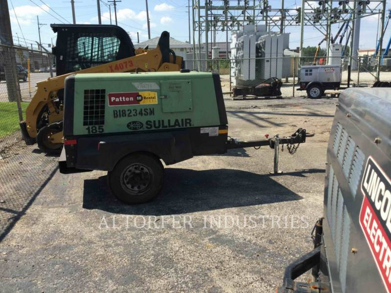 SULLAIR AIR COMPRESSOR 185CA equipment  photo 3