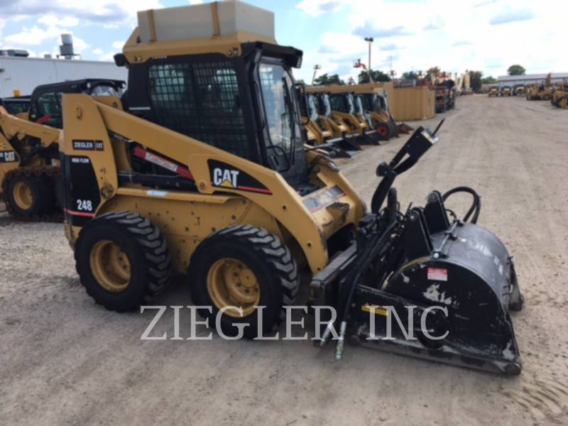 CATERPILLAR SKID STEER LOADERS 248 equipment  photo 2