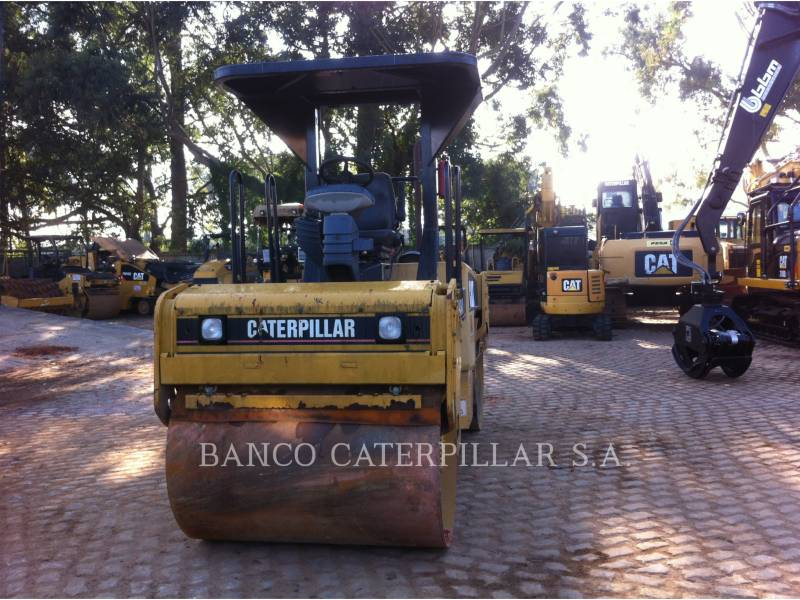 CATERPILLAR TAMBOR DOBLE VIBRATORIO ASFALTO CB-434D equipment  photo 7