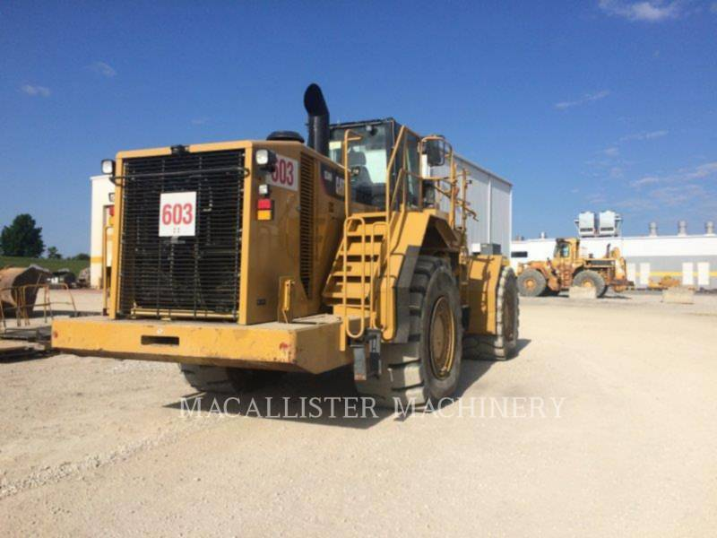 CATERPILLAR DOZER GOMMATI 834H equipment  photo 2