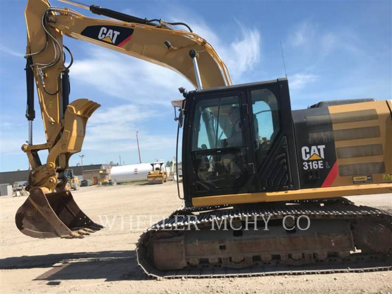 Caterpillar EXCAVATOARE PE ŞENILE 316E L THM equipment  photo 1