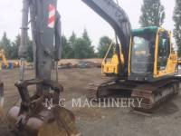 Equipment photo VOLVO CONSTRUCTION EQUIPMENT EC140BLC KETTEN-HYDRAULIKBAGGER 1
