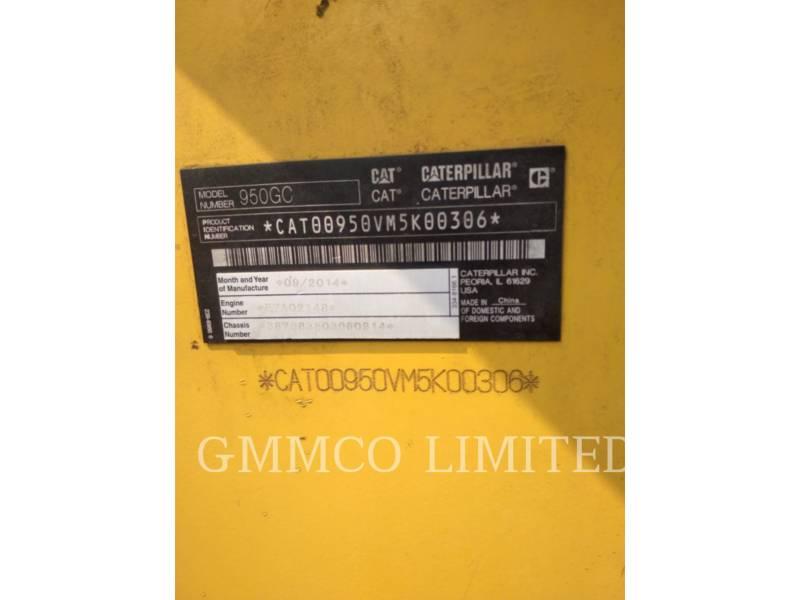 CATERPILLAR CHARGEURS SUR PNEUS MINES 950 GC equipment  photo 12