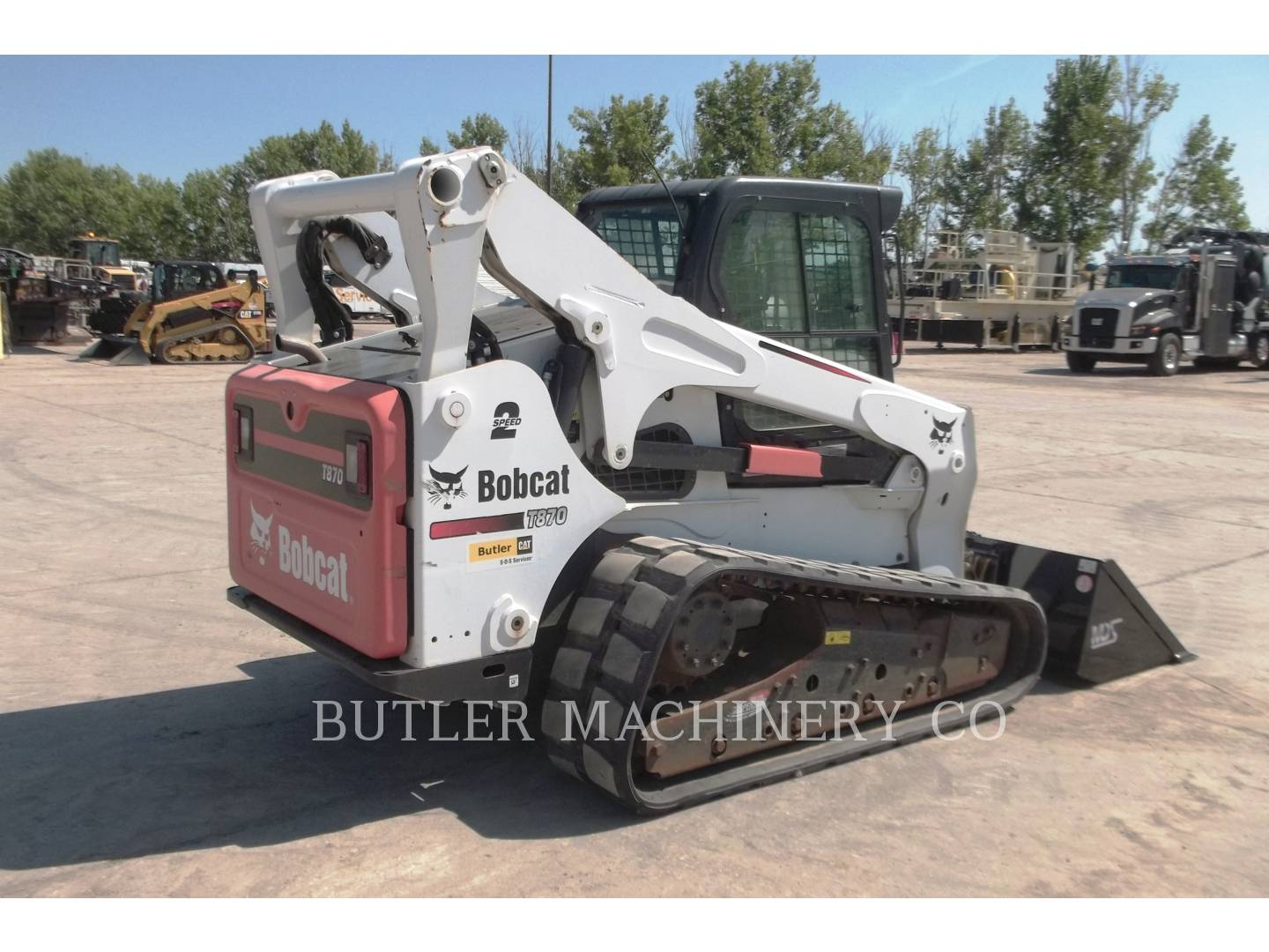 Detail photo of 2012 Bobcat T870 from Construction Equipment Guide