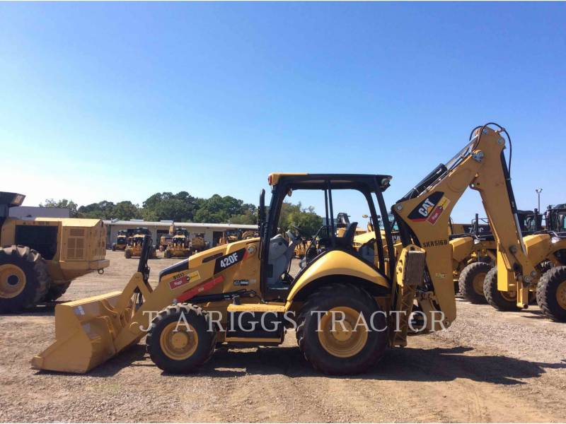 CATERPILLAR BACKHOE LOADERS 420F 4 equipment  photo 3