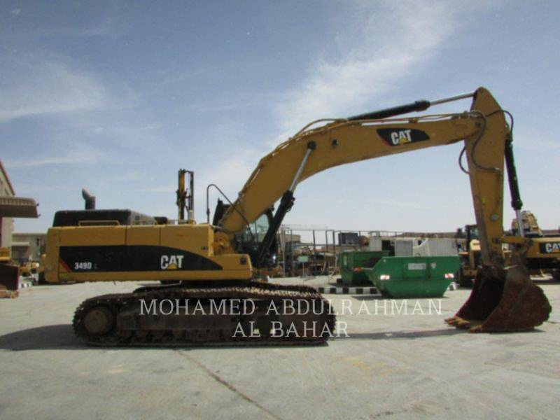 CATERPILLAR KETTEN-HYDRAULIKBAGGER 349 D L equipment  photo 6